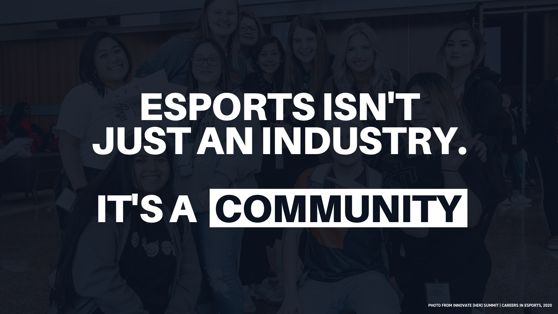 Esports Isn't Just an Industry, It's a Community