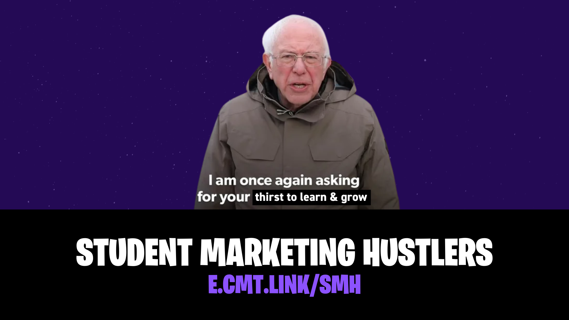 Creating A Community For Student Marketing Hustlers