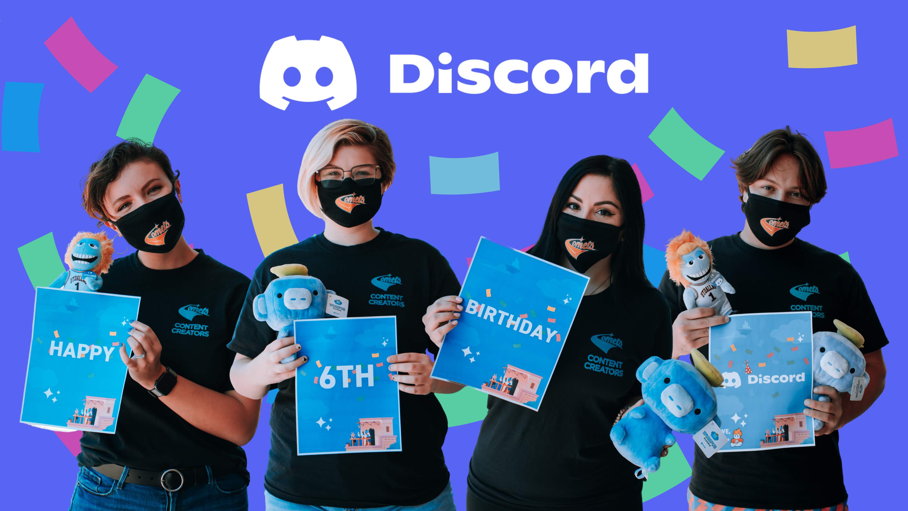 Celebrating Discord's 6th Birthday In Style (And With Cake)