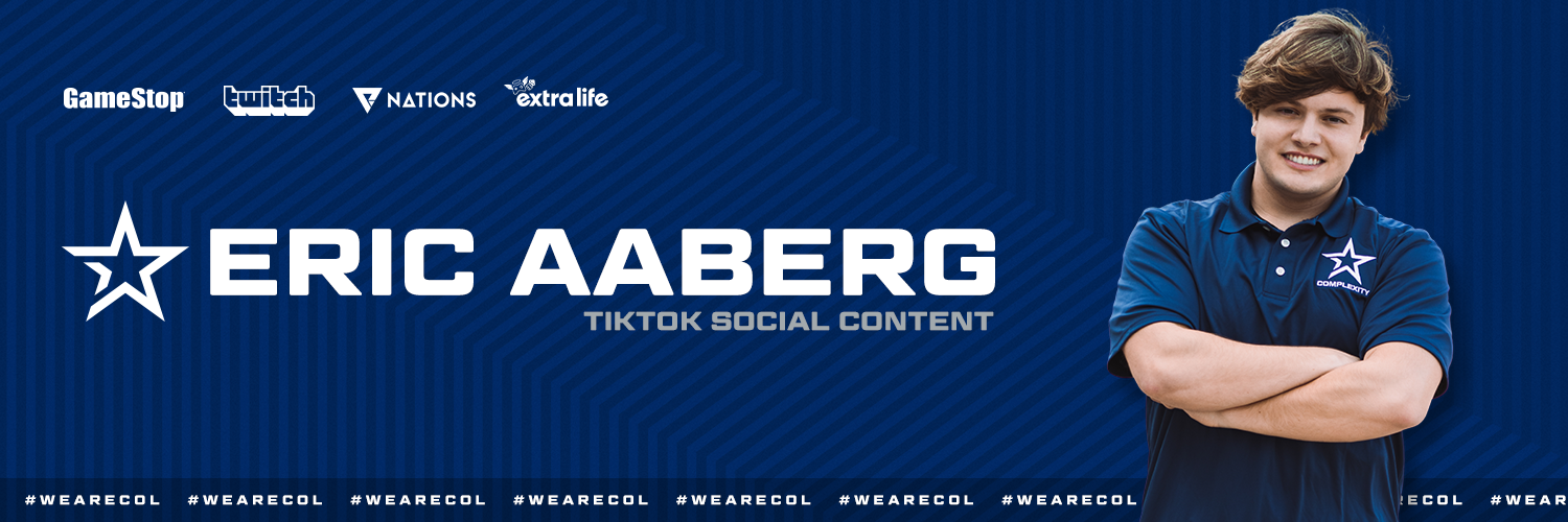 Eric Aaberg Joins Complexity Gaming for TikTok Social Content